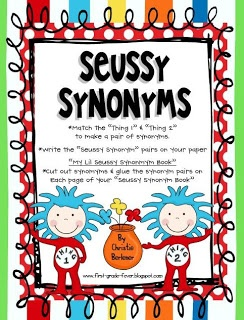 53 best images about library seuss on pinterest one fish for Coute synonyme