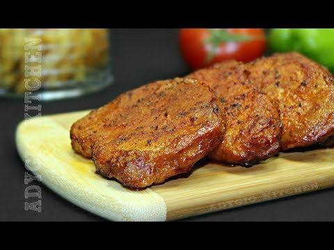 Friptura de porc la cuptor cu sos de rosii si usturoi | Adygio Kitchen - YouTube