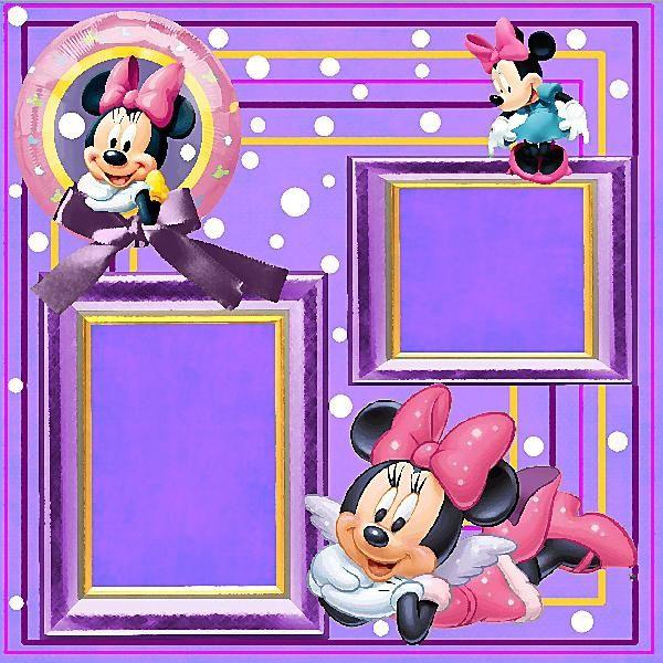 Free Disney Scrapbook Layouts | Disney QP #1 | Digital ...