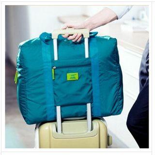 New Fashion Tas Pvc Tahan Air Nilon Lipat Wanita Dan Pria Tas Travel Bagasi BO7032