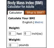 bady mass index
