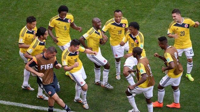Colombia - Los Cafeteros celebratory dance