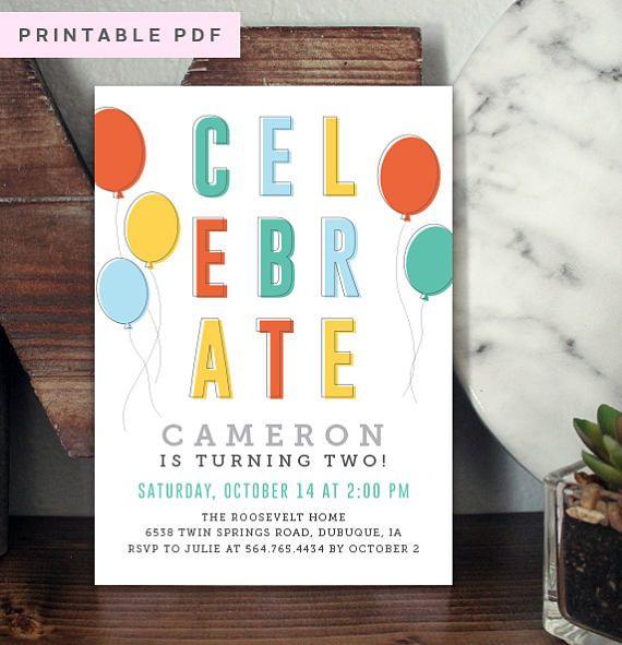 25 unique Diy birthday invitations ideas – Handmade Birthday Invitation