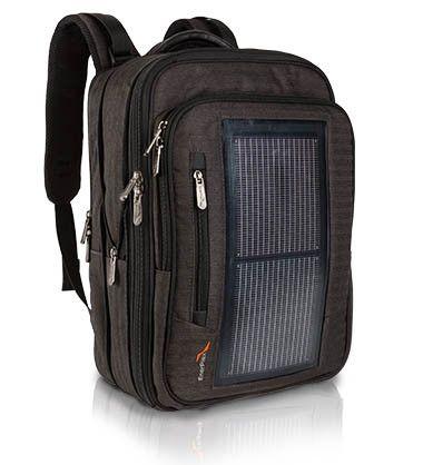 """EnerPlex"" Packr Executive Solar Powered Backpack"