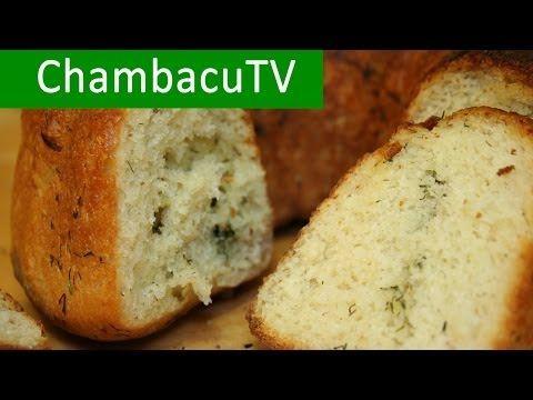 Как испечь вкусный домашний чесночный хлеб в духовке | Рецепт хлеба - YouTube