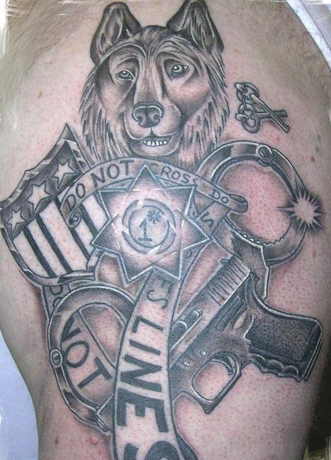 police ink