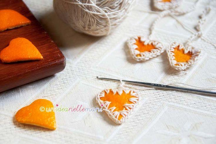 Cáscara de naranja decoraciones, ETIQUETAS, Paquetes De Regalos de DIY, DIY Decoración de Navidad y adornos  ... ❥Teresa Restegui http://www.pinterest.com/teretegui/❥