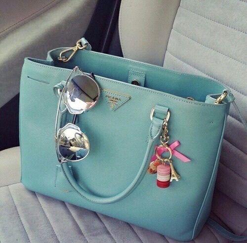 prada bag with sunnies- Prada handbags new collection http://www.justtrendygirls.com/prada-handbags-new-collection/