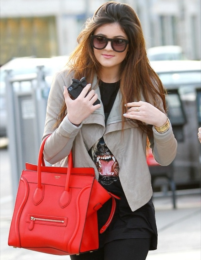 Red Celine Phantom bag | Clothes | Pinterest | Celine, Red Handbag ...