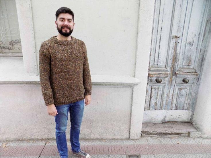 Sweater tejidoa palillo - pepa pituca