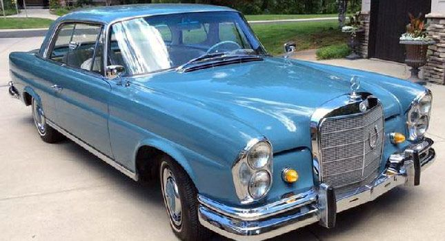 Gorgeous 1965 Mercedes 220 SE Coupe With Only Two Prior Owners Yours for $25,900 - Carscoops