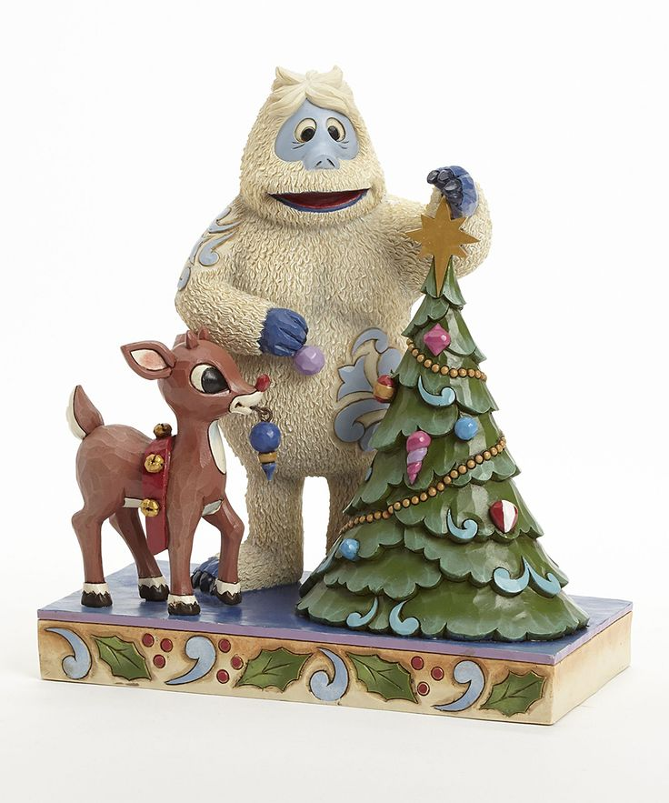 Bumble & Rudolph Figurine