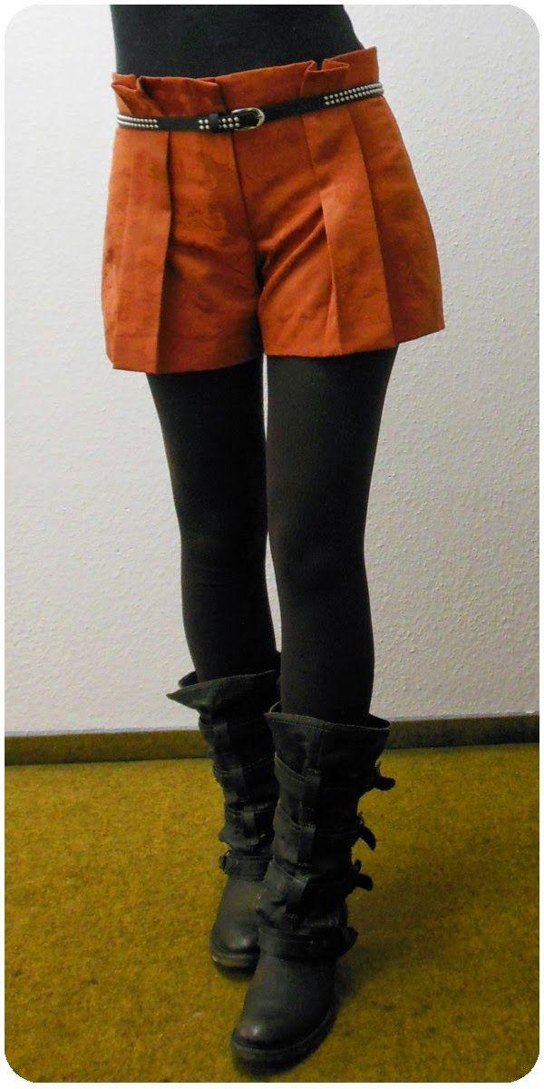 Pleated Pants Skirt