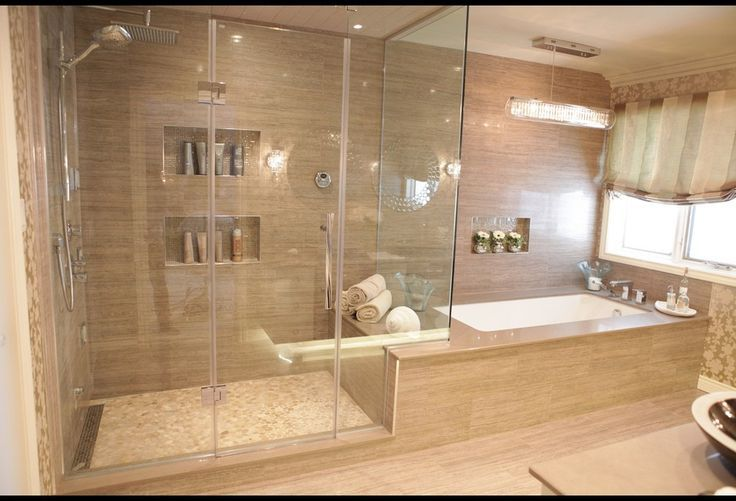 Spa inspired bathrooms spa inspired bathroom with heated for Bedroom with bathroom design