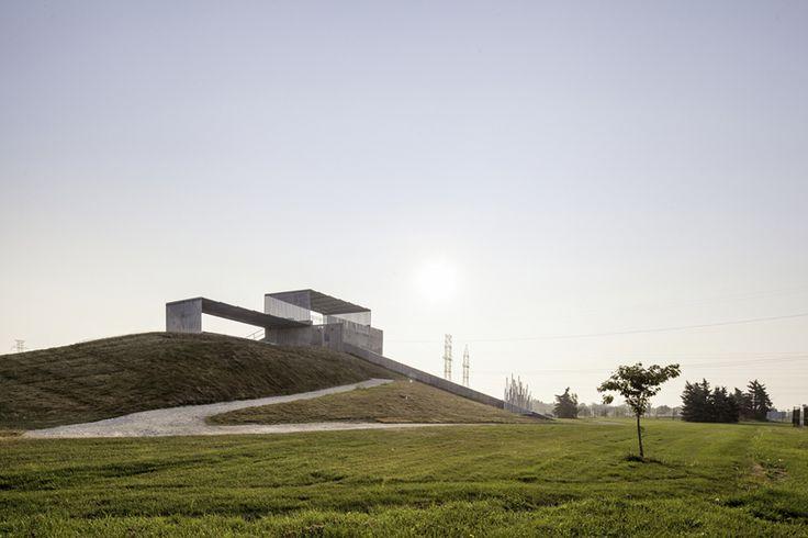 KMA architects installs BMX supercross track in toronto park