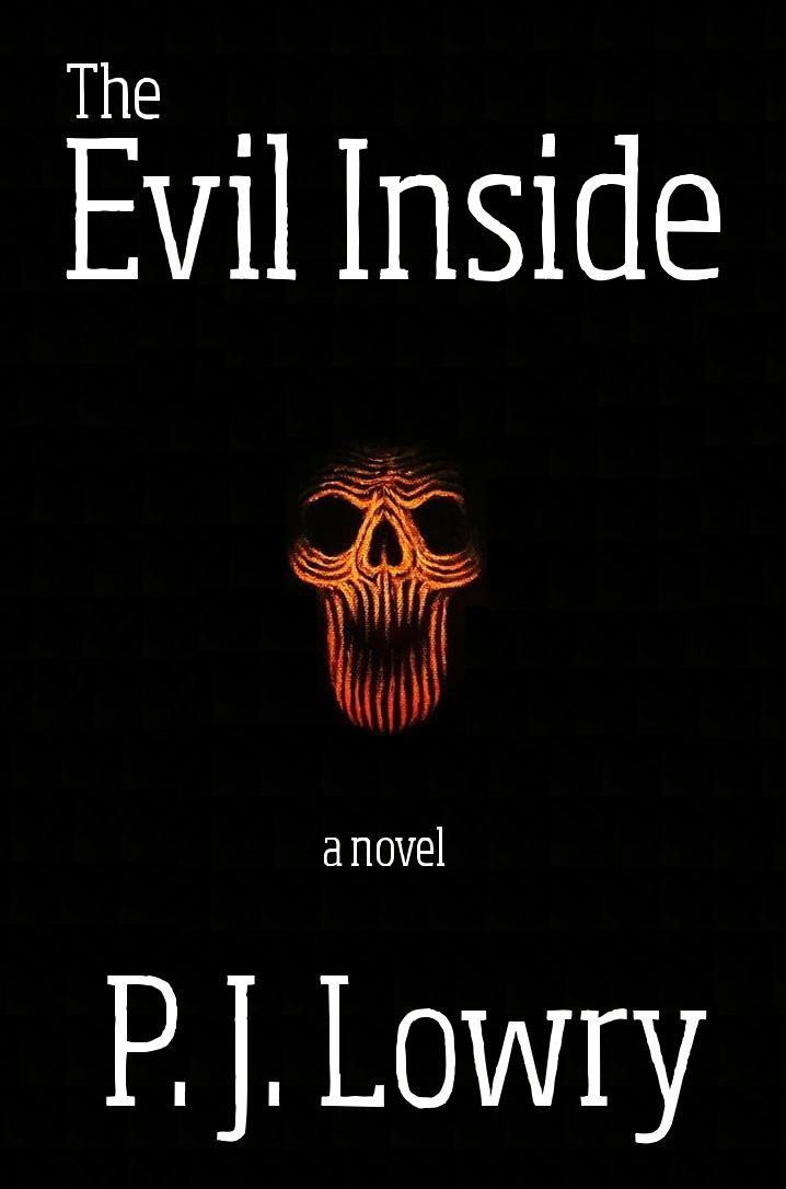 New cover for 'The Evil Inside'... look pretty sinister, eh?