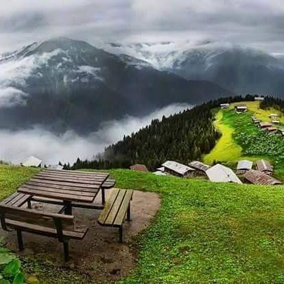 Çünkü yarın güzel bir gün ve hayat hep demiştir ki: Kısa vadede kötüler, Sonunda daima iyiler kazanır Pokut Plateau, Çamlıhemşin, Rize