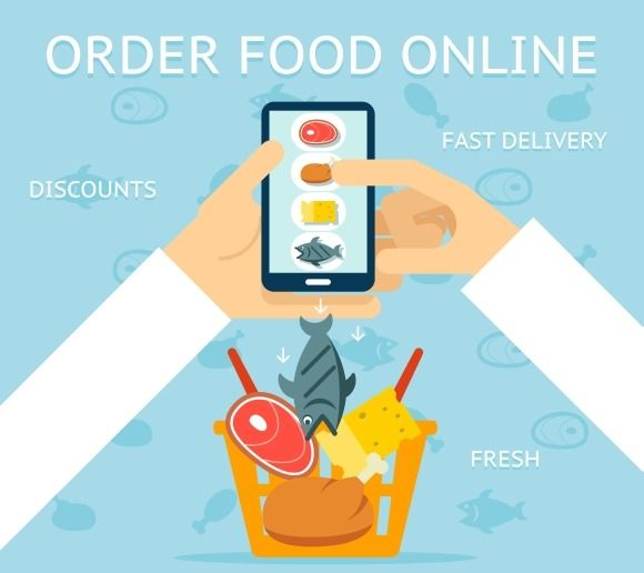Order food online by Microvector on Creative Market