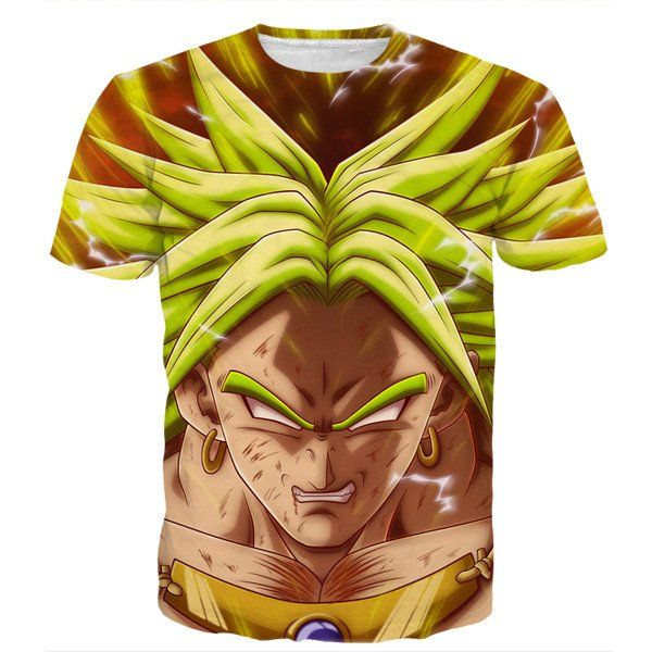 DBZ Crazy Broly Super Saiyan Attack Powerful Danger Trendy Design T-Shirt - Saiyan Stuff  DBZ Crazy Broly Super Saiyan Attack Powerful Danger Trendy Design T-Shirt - Saiyan Stuff  #DBZ #Crazy #Broly #Super #Saiyan #Attack #Powerful #Danger #Trendy #Design #T-Shirt