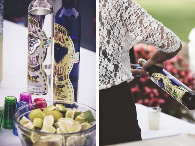 Tequila shots and lime! #wedding See more of this Traditional Mexican Themed Wedding in San Diego @ http://blog.myweddingreceptionideas.com/2014/08/traditional-mexican-themed-wedding-in.html