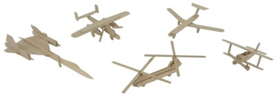 Popsicle Stick Air Force II: How-To and Do-It-Yourself Instructions and Videos | SonicDad.com