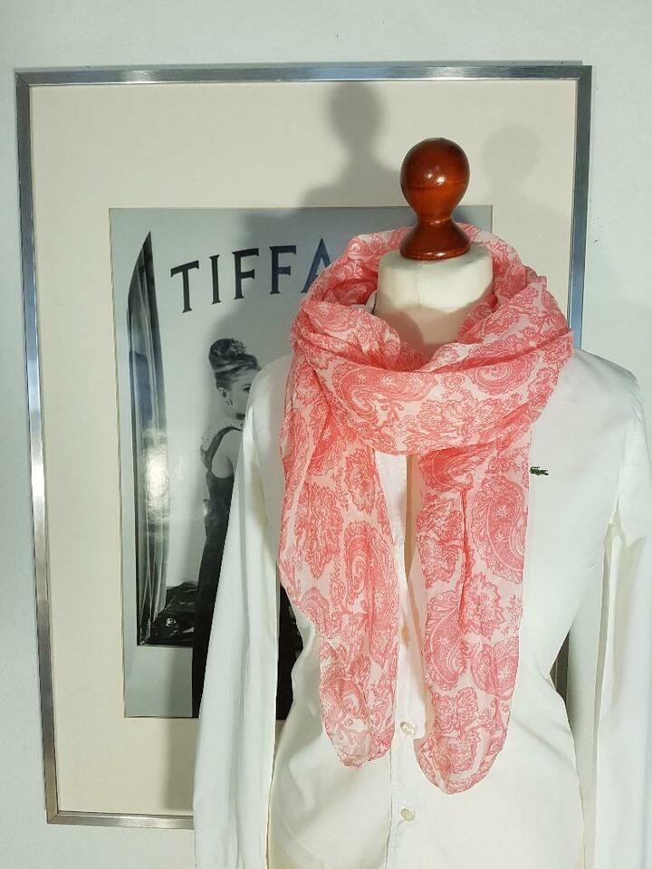 Schal mit Blüten und Totenköpfen Tuch Skull Flower Style Fashion Damen Frühling