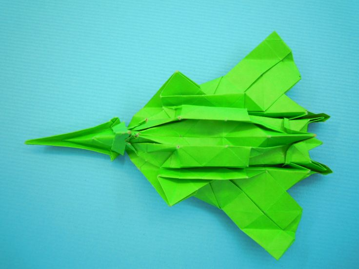 折り紙 戦闘 機