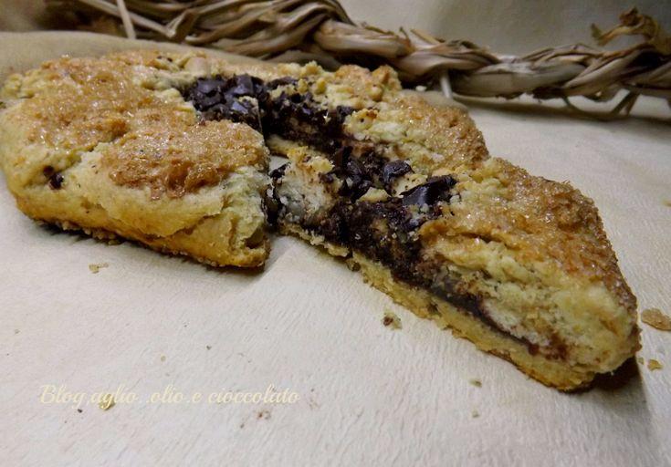 Crostata Rustica Ricotta e Cioccolato