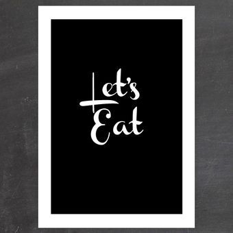 MANDAGSPRINT: LET'S EAT