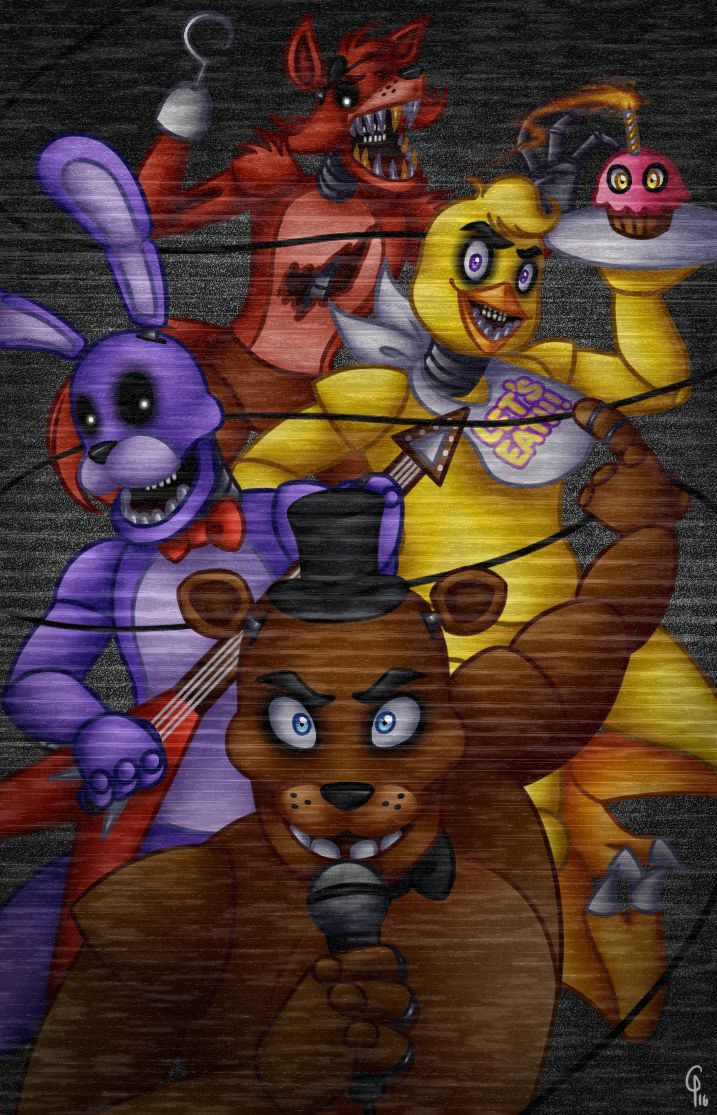 Five Nights At Freddy S Bedroom Decor: Five Nights At Freddy's By Silver-Monster.deviantart.com