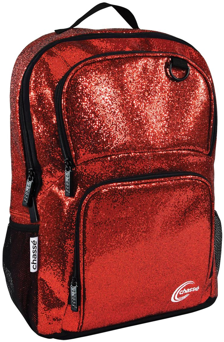 """$24.95 Chassé ® Glitter Backpack -- Idea for Jaci for her """"new"""" dance bag she wants for her birthday!"""