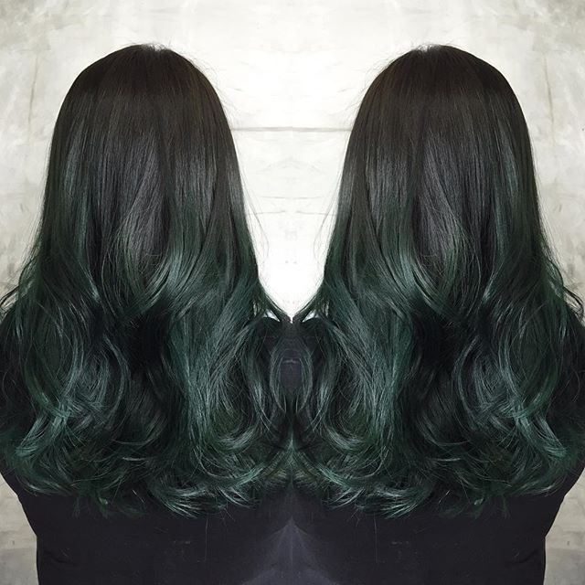 Best 25 Teal Ombre Hair Ideas On Pinterest Teal Ombre