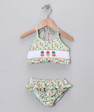 Pink & Green Ice Cream Tankini - Infant by  #zulily #zulilyfinds