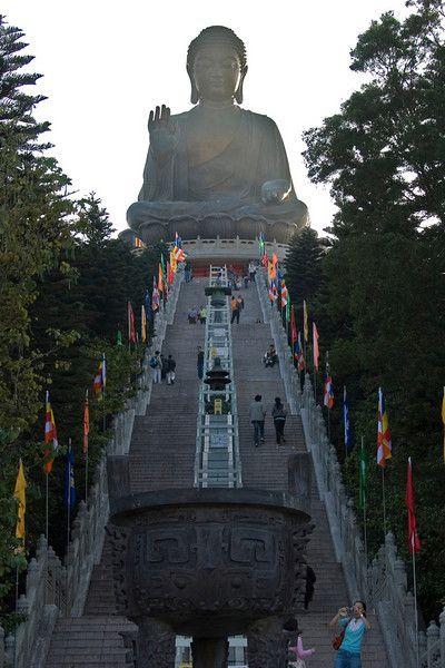 Po Lin Temple in Hong Kong