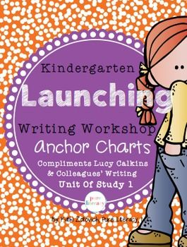 These anchor charts are inspired by the Lucy Calkins Launching Writing Workshop Unit 1. I am making them available for purchase as a standalone product because I believe they are valuable resources to inspire young writers even if you do not use the Lucy Calkins writing program.