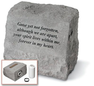 Pet Headstone - Gone yet not forgotten