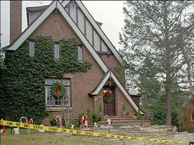 JonBenet Ramsey's House is listed (or ranked) 15 on the list The 15 Most Infamous & Haunting Crime Scene Photographs Ever Taken