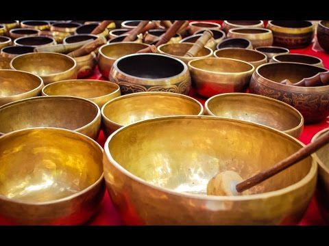 6 Hour Powerful Tibetan Bowl Music: Chakra Healing, Meditation Music, Re...