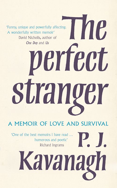 The Perfect Stranger, 2015 edition, cover updated by clarkevanmeurs.co.uk