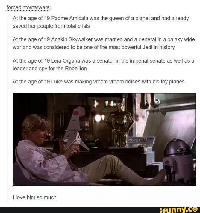 This is the best Star Wars post out there. Repin every time.