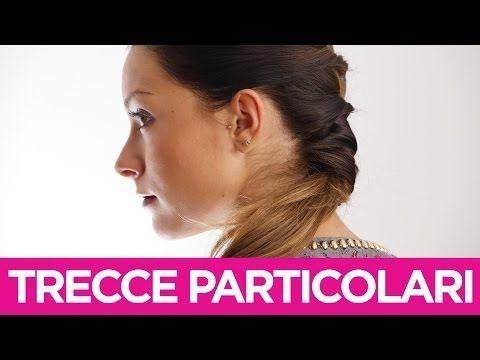 Come fare delle trecce particolari ai capelli   Le Acconciature fai-da-te di Elisa   Video Tutorial