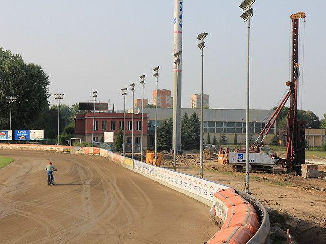 Pale prefabrykowane, Przebudowa stadionu miejskiego Rzeszów.