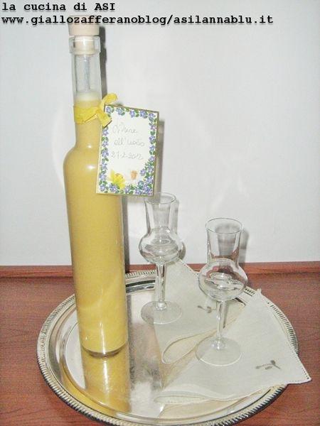 liquore all'uovo La cucina di ASI
