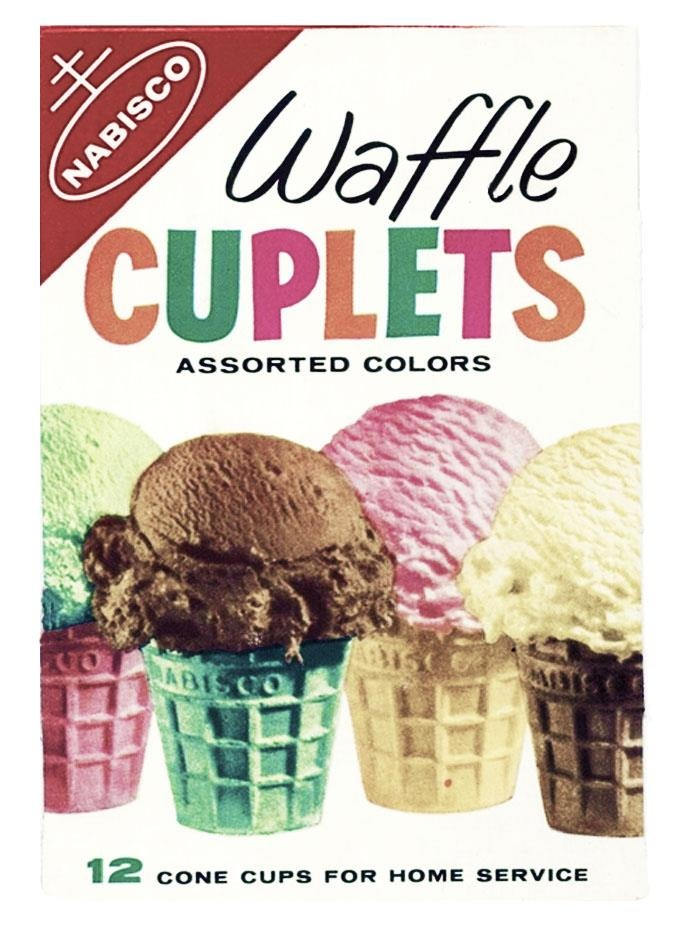 Nabisco - Wafle Cuplets Assorted Colours