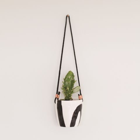 Abstract Hanging Cup