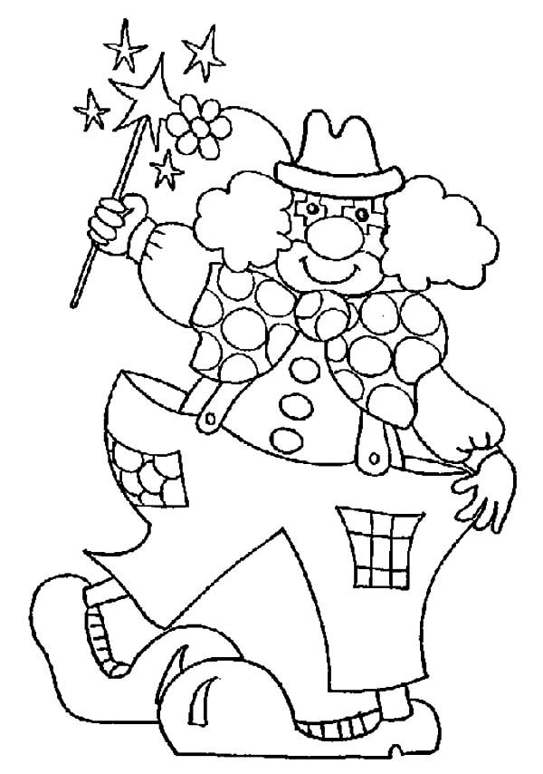 Funny Clown Coloring Pages Coloring Pages Printable Coloring Pages Coloring Books