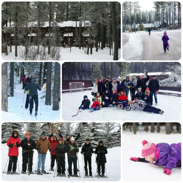 Family reunions in winter are fabulous at The Resort at Cypress Hills