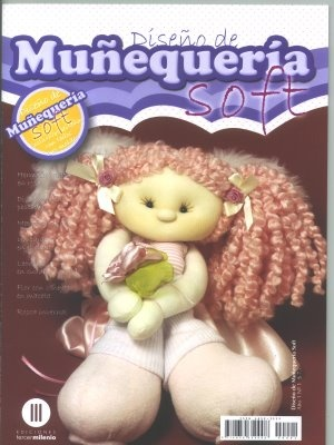 Accesos a revistas para hacer muñecos soft.