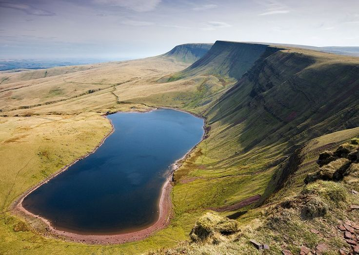 Uk travel spots (Carmarthenshire pictured being one)