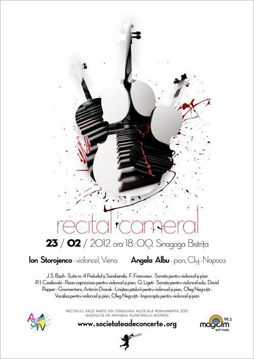 classical concert poster design - Google Search